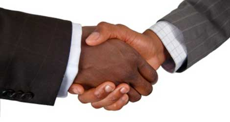 Handshake mediation