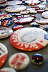 voter buttons